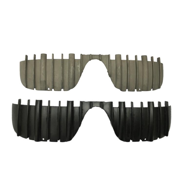 高精密压铸镁合金眼镜框架配件可氧化各种颜色