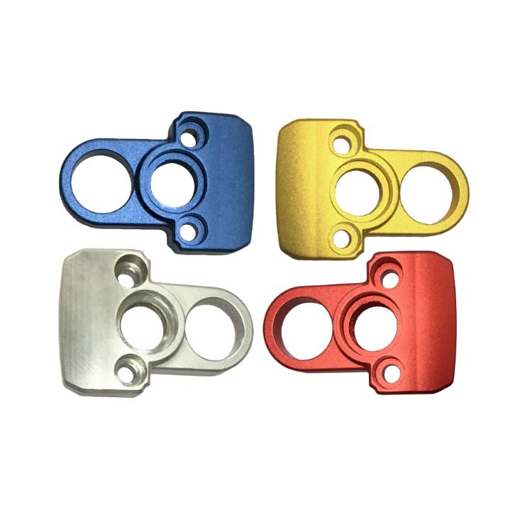 铝合金机械配件 高精密铝合金压铸 阳极氧化多种样式无砂孔