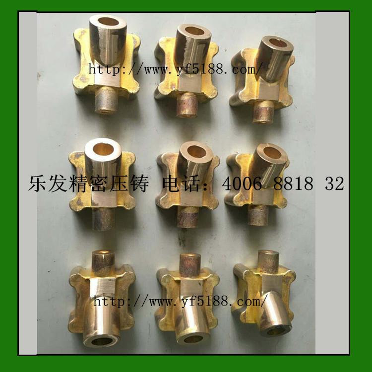 高精密铜压铸电子配件,无砂孔可开模定做