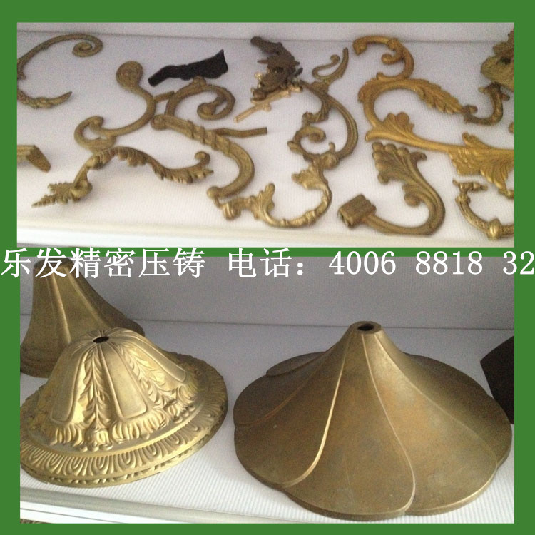 铜压铸产品 铜压铸加工 精密铜件订制