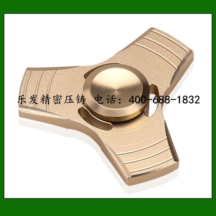 减压创意玩具三角指尖陀螺铝合金指尖陀螺
