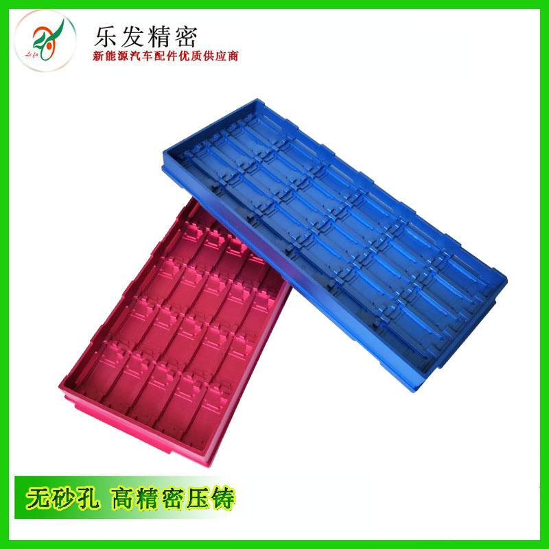 铝合金压铸件后加工氧化各种颜色成品件