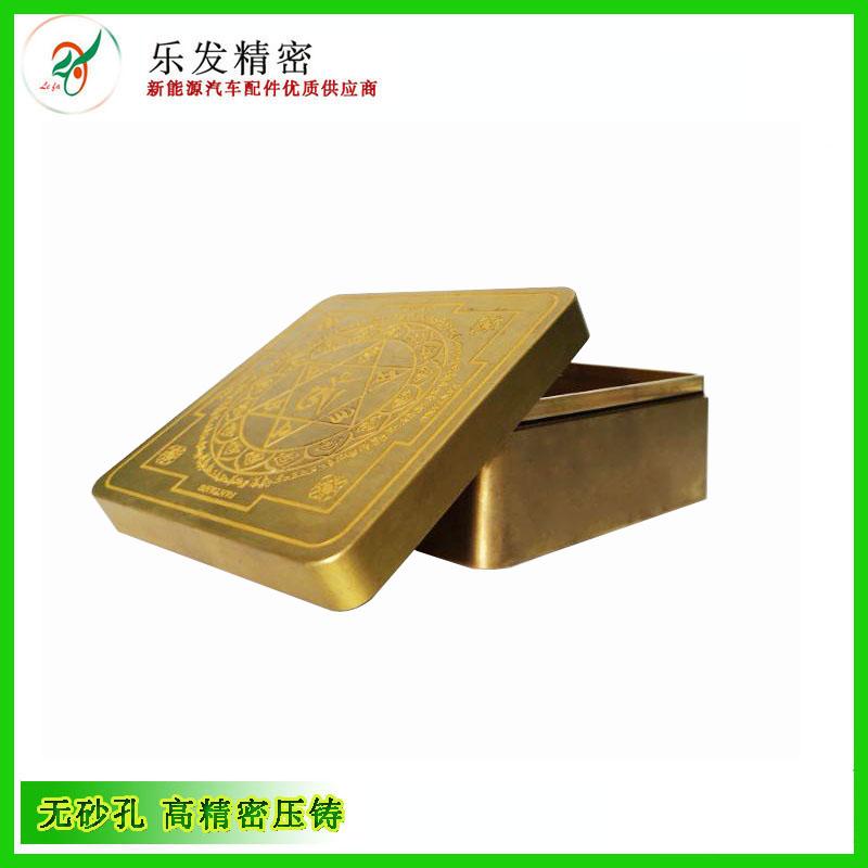 多年专注高精密铜压铸件 铜盒子定制