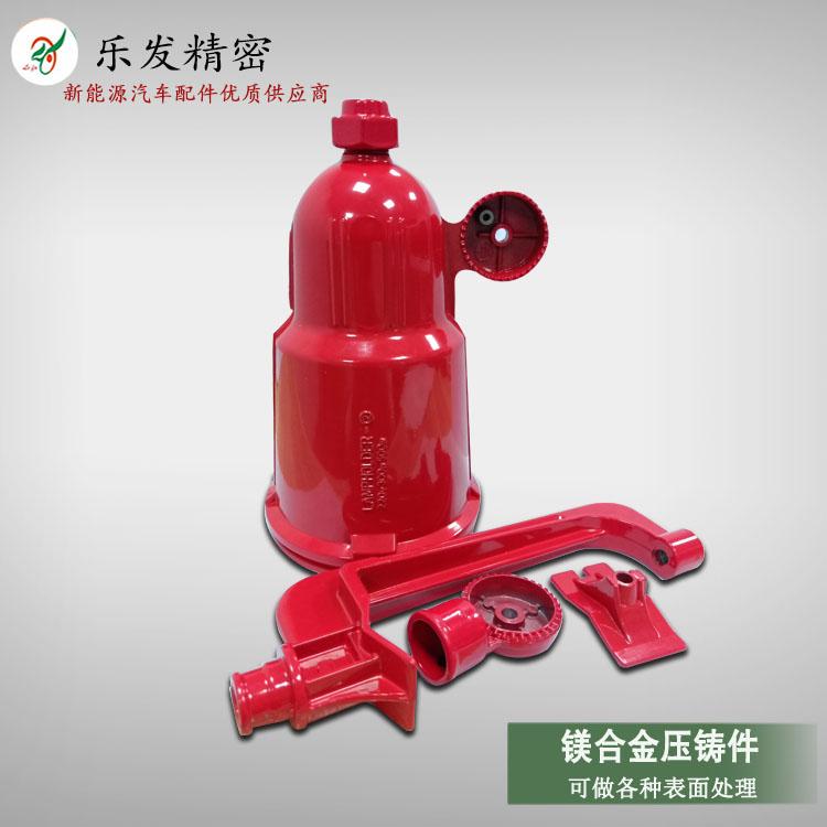 高精密压铸镁合金 液压千斤顶外壳配件 表面可做各种颜色