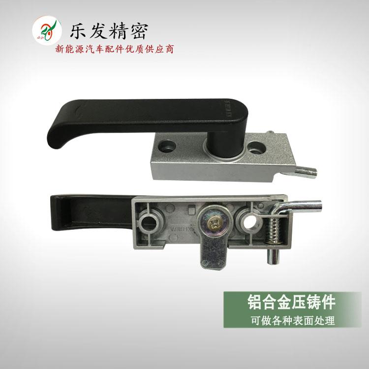 高精密铝合金压铸 智能锁门把手 可做各种表面处理