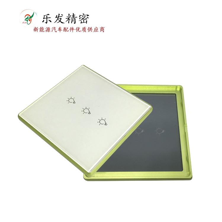 铝合金开关面板 专业压铸厂家直销高精密铝合金压铸加工