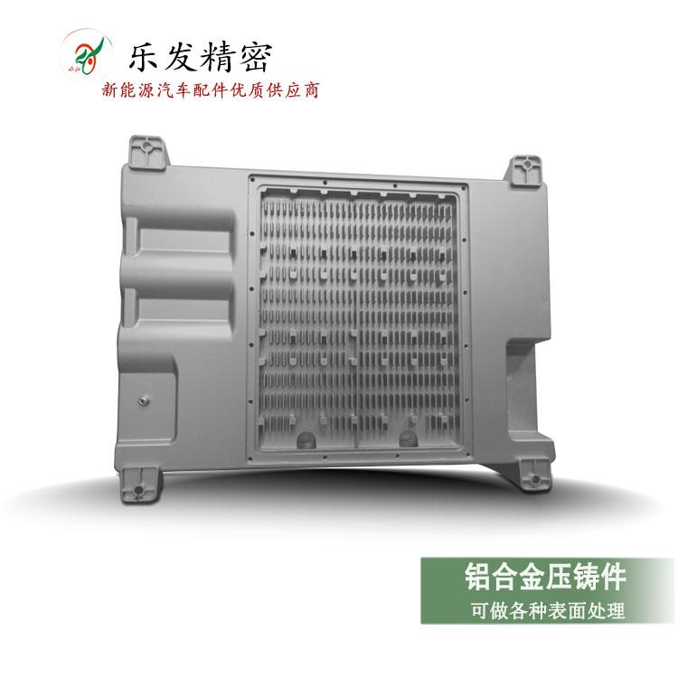 铝合金新能源原装充电机端盖 高精密铝合金压铸专业厂家定制