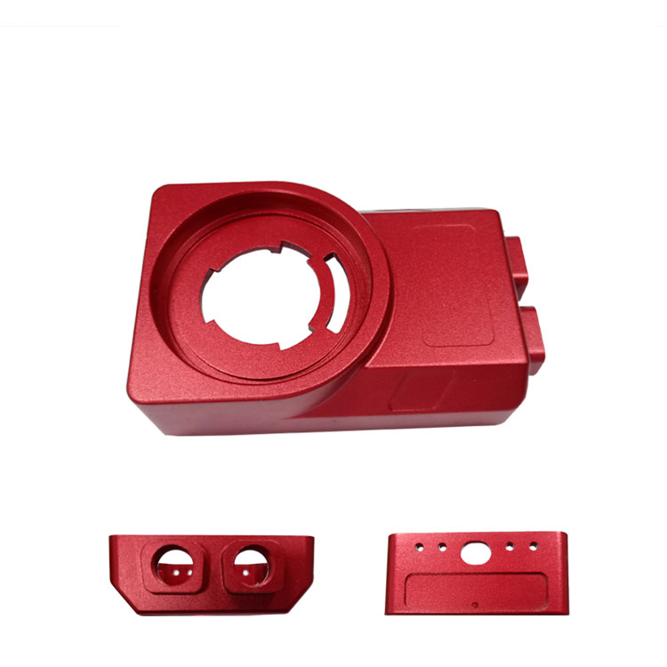 工业相机外壳高精密铝合金配件可氧化各种颜色无色差