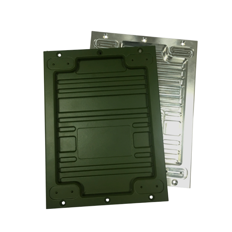 铝合金机械盒子 高精密铝合金压铸抛光电镀氧化精整喷油
